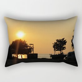 Newport News Sunset Rectangular Pillow