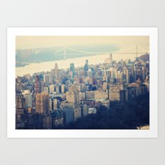 The Upper West Side Art Print