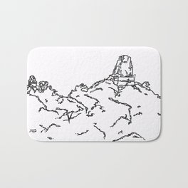 From Whence He Came Bath Mat