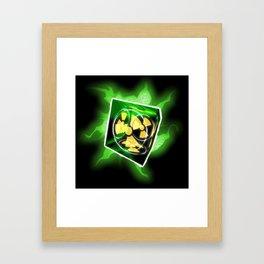 The Nuke Cube Framed Art Print