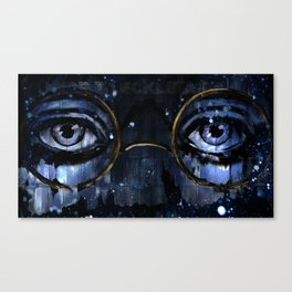 Great Gatsby - Dr TJ Eckleburg - by Hasun Khan Canvas Print