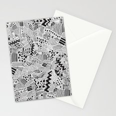 GRAPHic-MoN0T0NE Stationery Cards