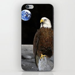 The Eagle Has Landed iPhone Skin