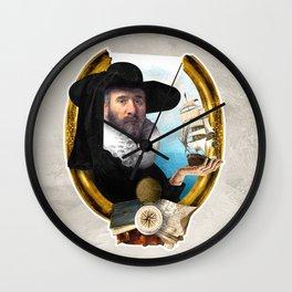 The Navigator's Dream Wall Clock