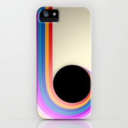 Into the Black Hole iPhone Case