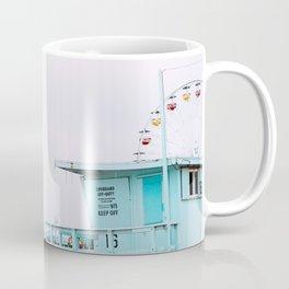 Santa Monica Pier Lifeguard Coffee Mug