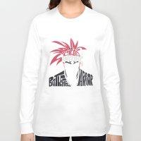 bleach Long Sleeve T-shirts featuring renji abarai bleach by Rebecca McGoran