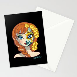 Sugar Skull Series: Princess of Warmth Stationery Cards