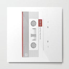 Audio Tape Metal Print