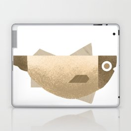 Beige fish Laptop & iPad Skin