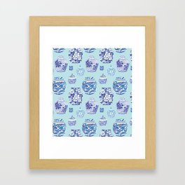 Chinoiserie Ginger Jar Collection No.3 Framed Art Print