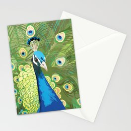The Majestic Peacock Stationery Cards