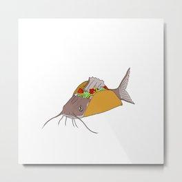 fishtaco Metal Print