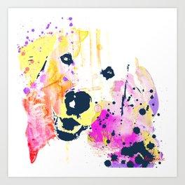 Lady Bird the Golden  Art Print