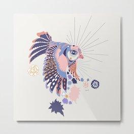 Sweet Coco Metal Print