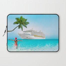 Christmas holidays on Caribbean cruise Laptop Sleeve