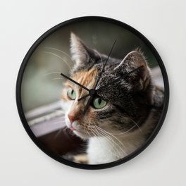 Lippy Cat Wall Clock