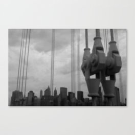 A view from Brooklyn Canvas Print
