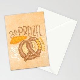 Soft Pretzel Stationery Cards