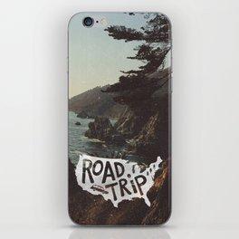 Road Trip USA - big sur iPhone Skin