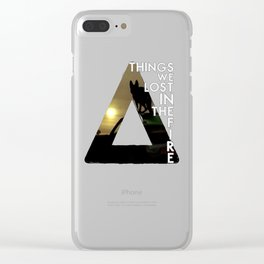 Bastille - Things We Lost In The Fire Clear iPhone Case