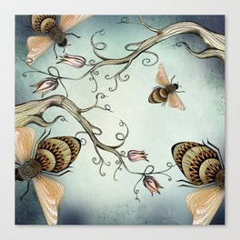 all the buzz Canvas Print