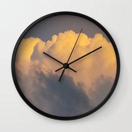 Walking on cloud 9 Wall Clock