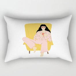 Pyjama Sunday Rectangular Pillow