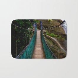 Swinging Bridge -Guam Bath Mat