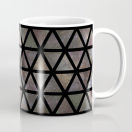 TRIANGLE GALAXY REPETITION Coffee Mug