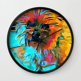 Shih Tzu 3 Wall Clock