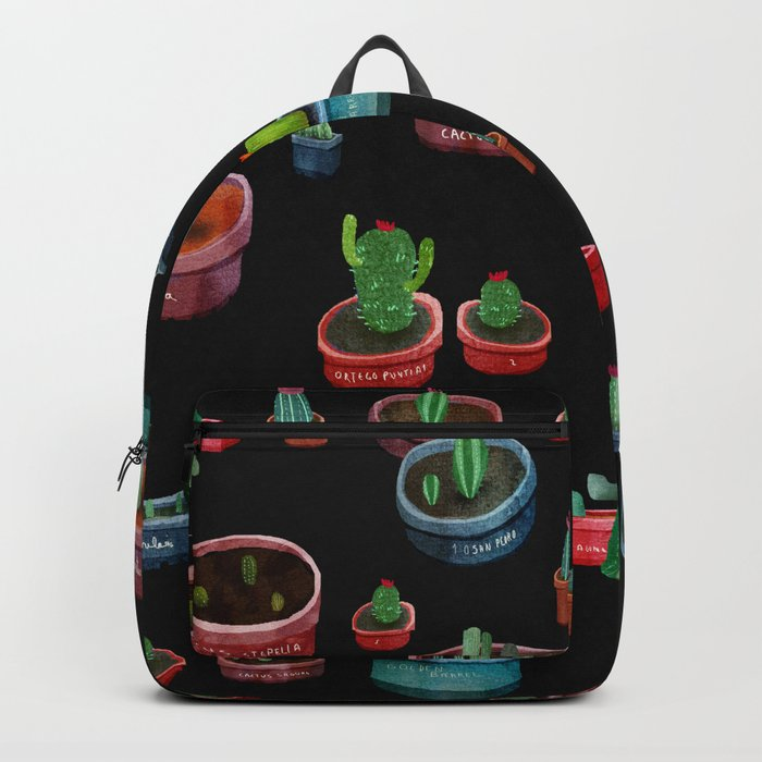cute cactus in the garden Backpack