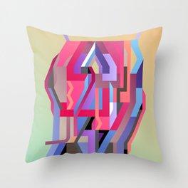 Maskine 5 Throw Pillow