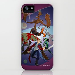 Guardians of the Galaxy (Print) iPhone Case