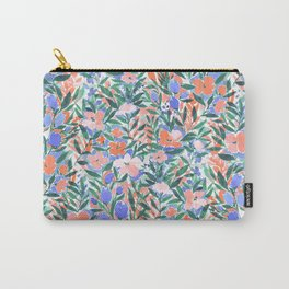 Nonchalant Coral Carry-All Pouch