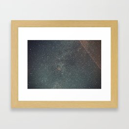 Wyoming By Night Framed Art Print
