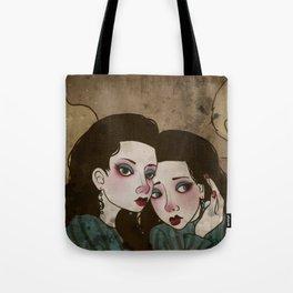 Twin Princesses Tote Bag