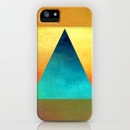 Triangle Composition XIII iPhone Case