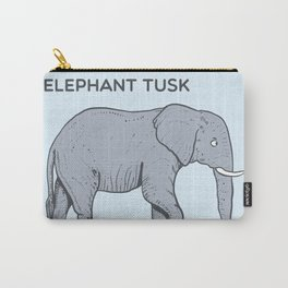 ELEPHANT tusk Carry-All Pouch