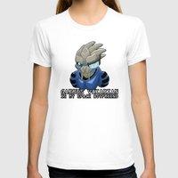garrus T-shirts featuring Garrus Vakarian Is My Space Boyfriend by Maggie Davidson