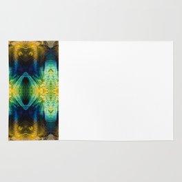 Emerald Kiss Abstract Art by Sharon Cummings Rug