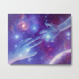 Lost In The Cosmos Metal Print