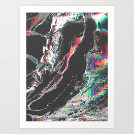 ƒun at parties Art Print
