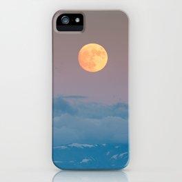 Full super moon December 2017 iPhone Case