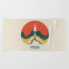 Come See The Universe Beach Towel