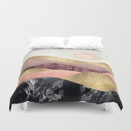 Blush Sun Duvet Cover