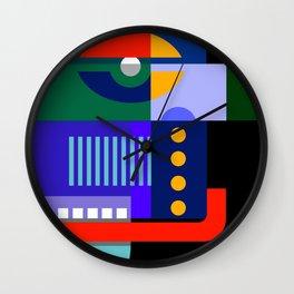 Abstract Drip Wall Clock