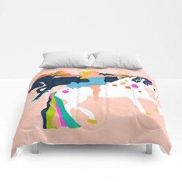 horses shapes Comforters