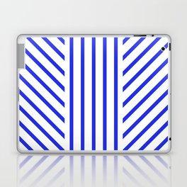 Lined Blue Laptop & iPad Skin