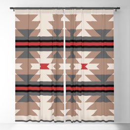 Southwestern Pattern 125 Blackout Curtain